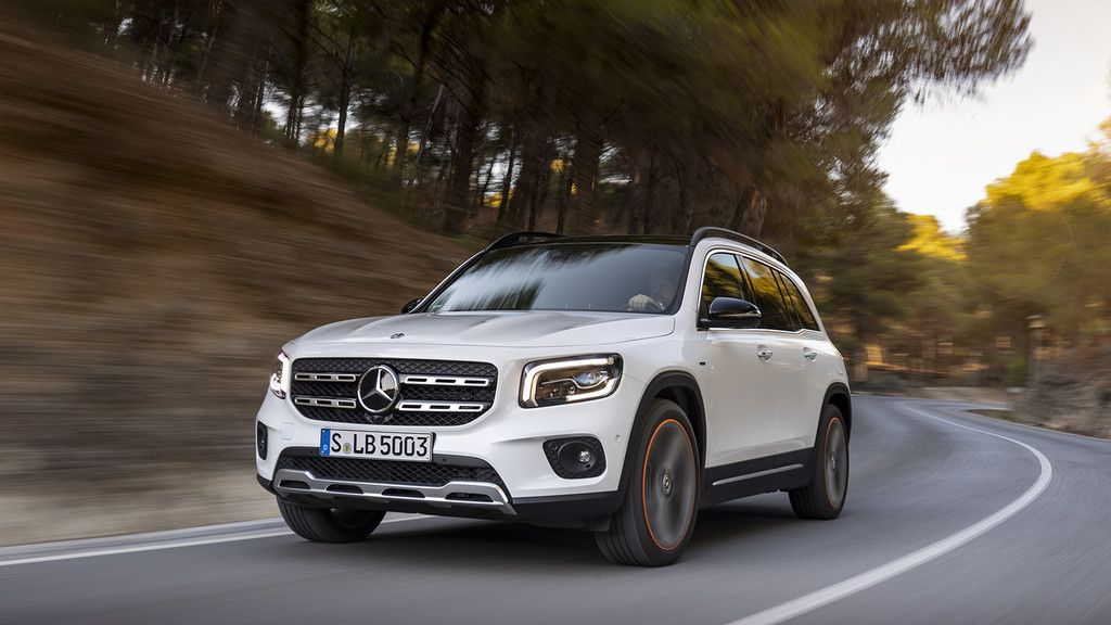 Mercedes Benz Glb A Prueba 7 Plazas Para Un Suv Premium Que Sí Cabe En El Garaje Video Mercedes Benz Monovolumen Mercedes