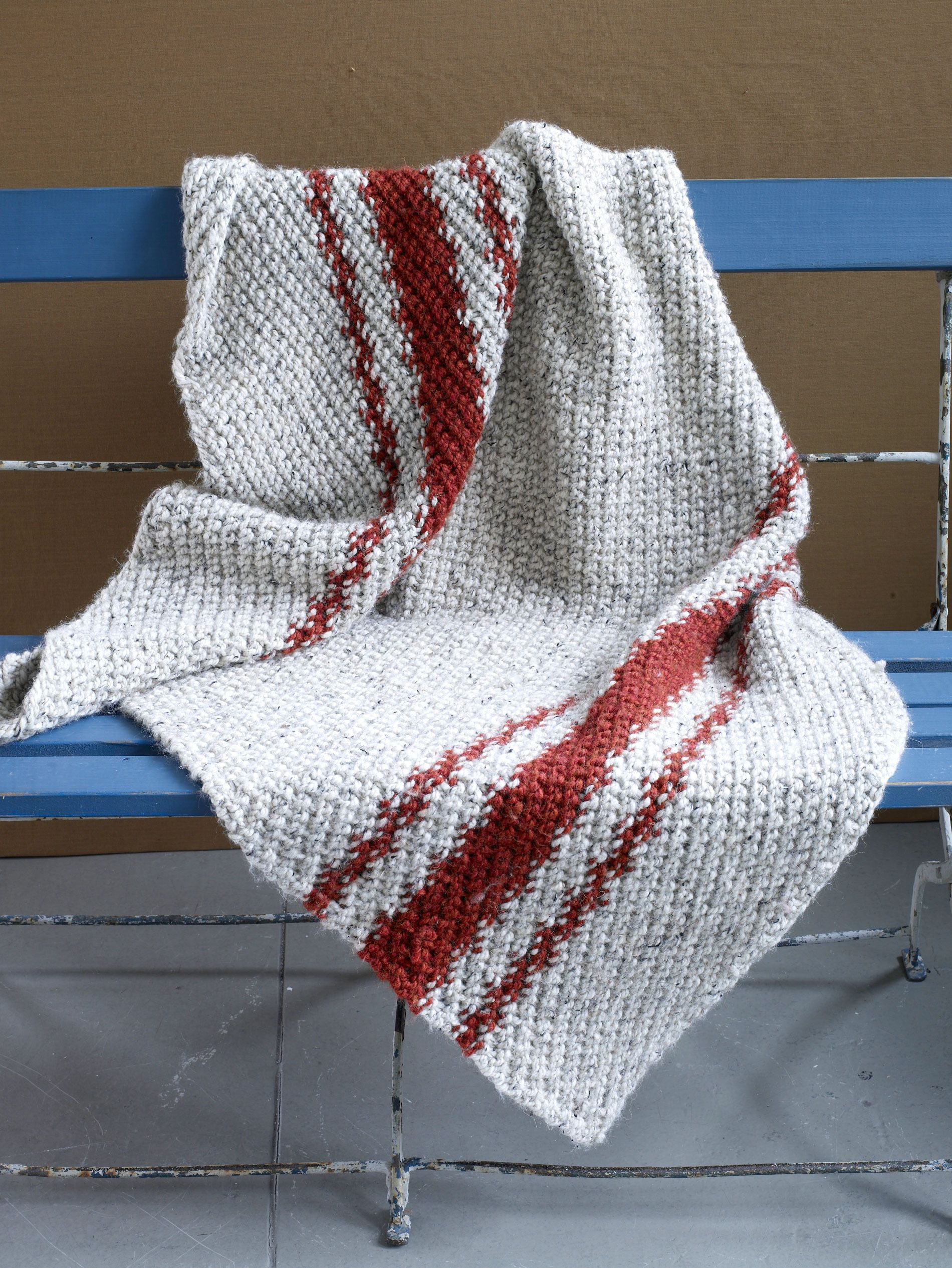 7 FREE patterns to knit for charity | Free pattern, Blanket and Patterns