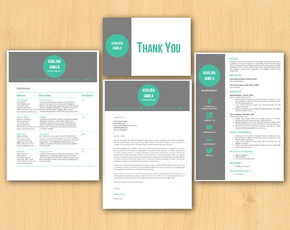 green diy modern microsoft word office stationery pack by inkpower