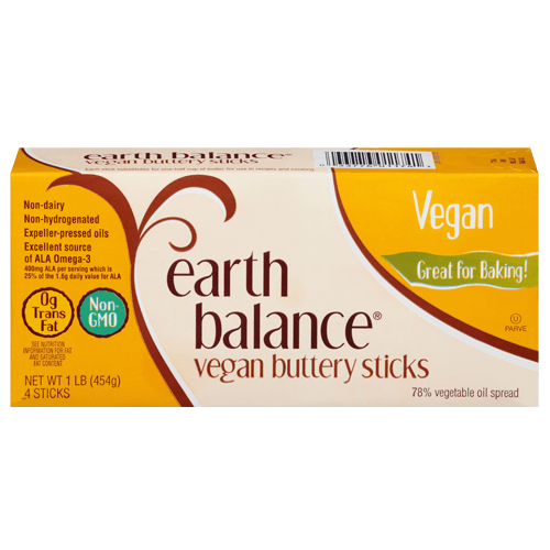 Enjoy A Vegan Butter Substitute In Your Delicious Recipes With Earth Balance Vegan Buttery Sticks They A Vegan Butter Vegan Butter Brands Earth Balance Butter