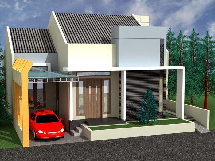 Konsep Rumah Minimalis Contoh Gambar Idaman Model Desain Type 36 Denah
