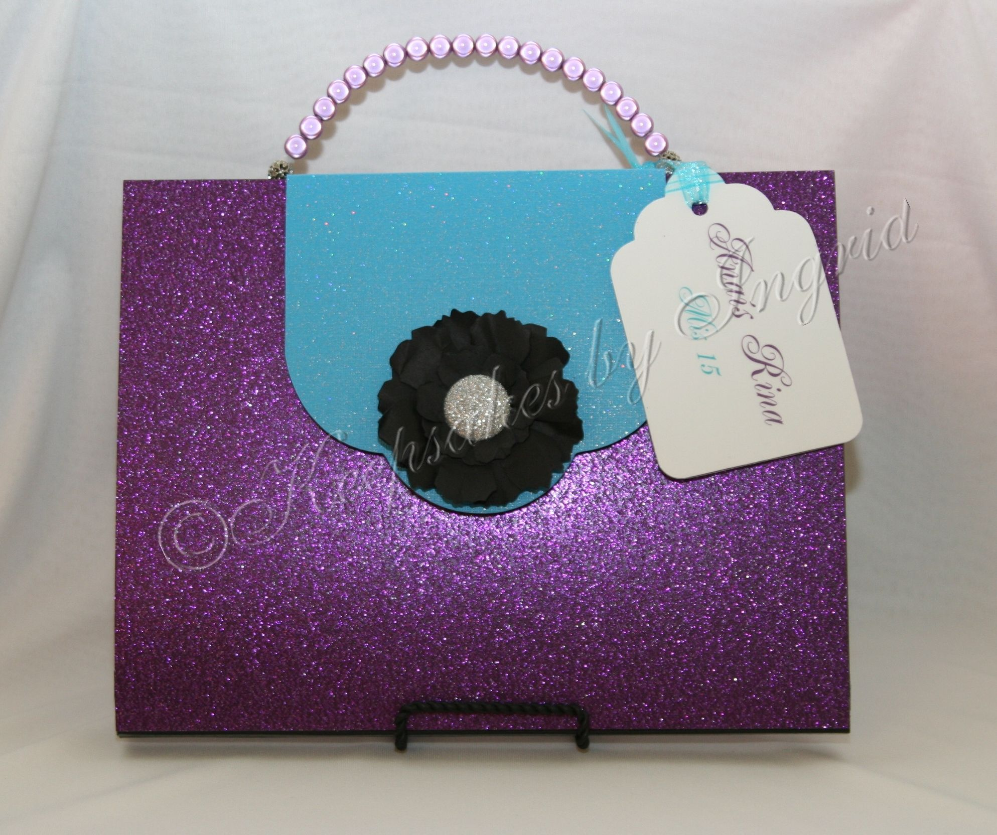 Fashion themed #quinceañero guest book #sweetsixteen #guestbook  Go see my creations at https://www.facebook.com/pages/Keepsakes-by-Ingrid/160451074008627