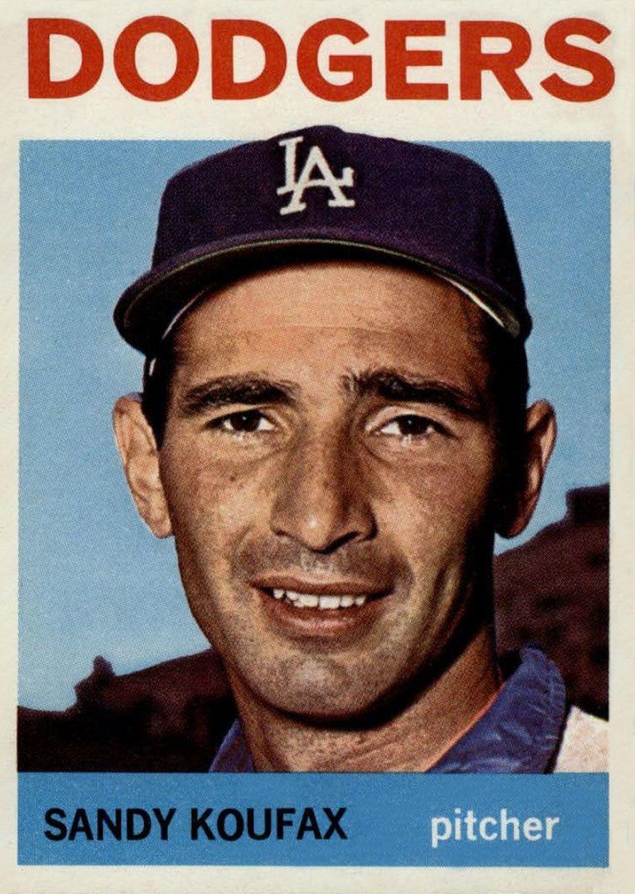 1964 Topps Sandy Koufax Sandy koufax, Baseball cards