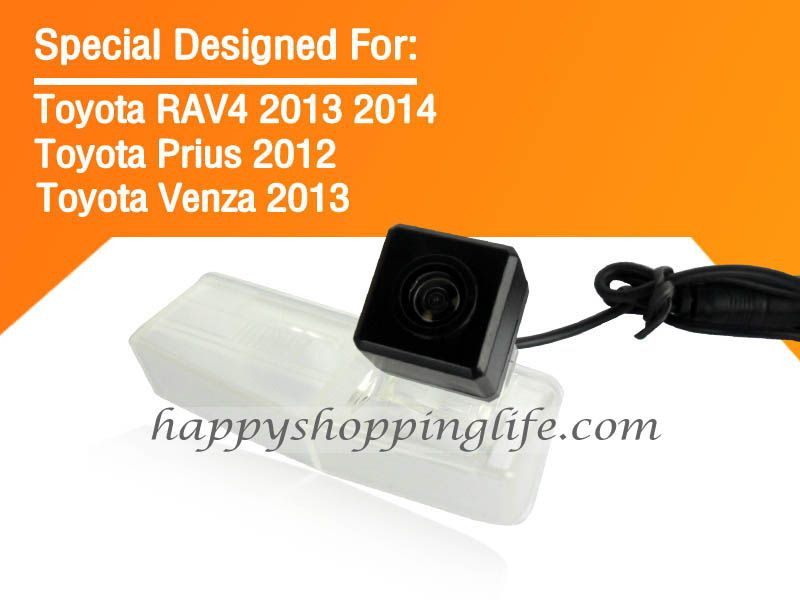 Car Rear View Camera For Toyota Venza 2013 Waterproof Back Up