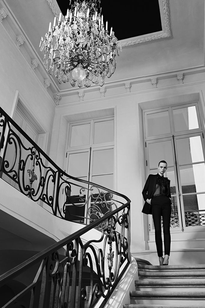 "Saint Laurent Couture Campaign ""Rue de l'université"""