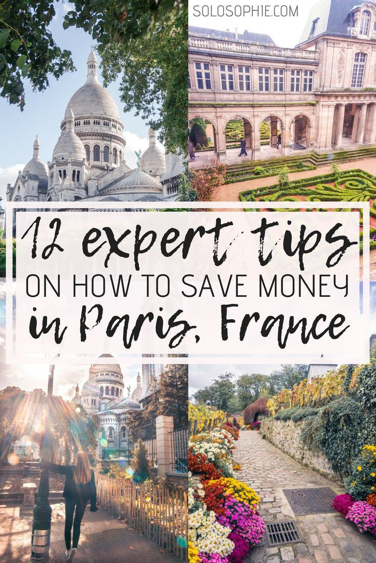 12 Expert Tips on How to Save Money in Paris (as told by a local #savingmoney