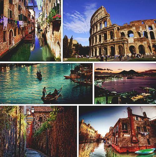 Italy in it's glory.