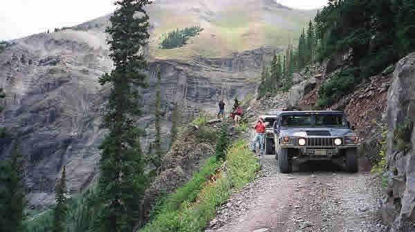 Black Bear Pass Jeep Trails Black Bear American Motors