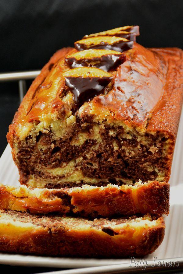 Cake Marbré ChocOrange #recettesdecuisine