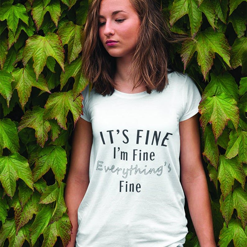 I'm Fine Hairstylist Salon Tee | Hairstylist Quote T-shirt | Hair Salon Shirt | Beautician Shirt | Esthetician shirt | Hair hustler |
