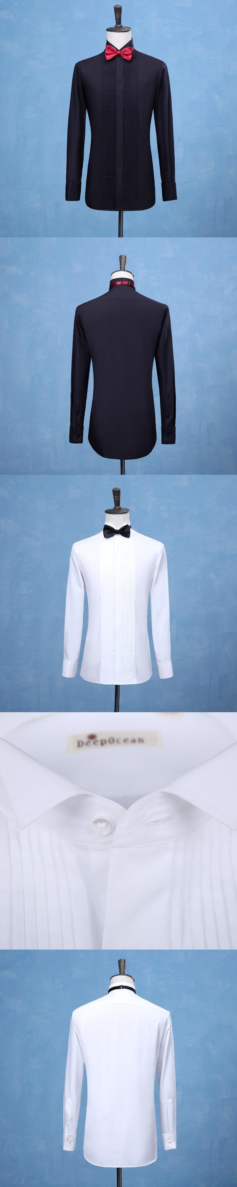 2017 New Fashion Groom Tuxedos Shirts Best Man Groomsmen White or ...