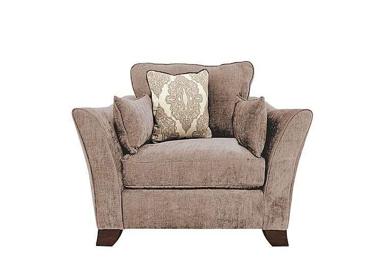 Furniture Village Annalise Fabric Armchair Choice Of Soft, Neutral Fabrics  Choice Of Light Or Dark