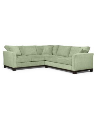 Kenton Fabric 2-Piece Sectional Sofa