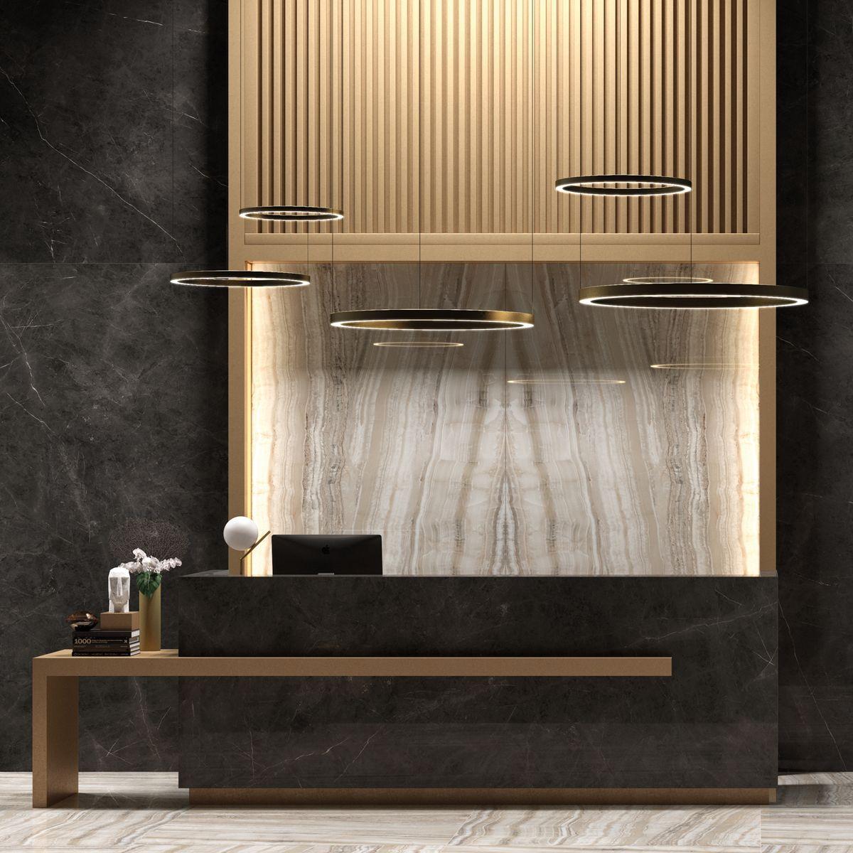 Counter Reception Desk Design, Hotel Reception Desk, Lobby Reception, Modern  Reception Area,