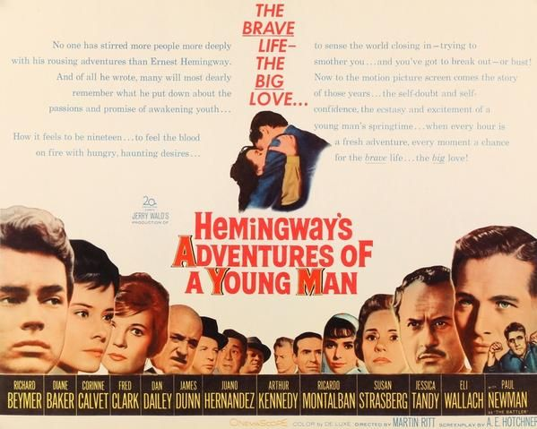 Download Hemingway's Adventures of a Young Man Full-Movie Free