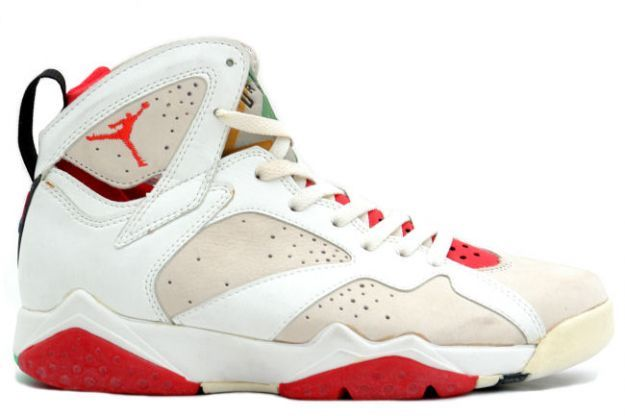 3341fec70dd Air Jordan 7 (VII) Original (OG) - Hare Jordan (White / Light Silver - True  Red | Air jordan and Nike air jordans