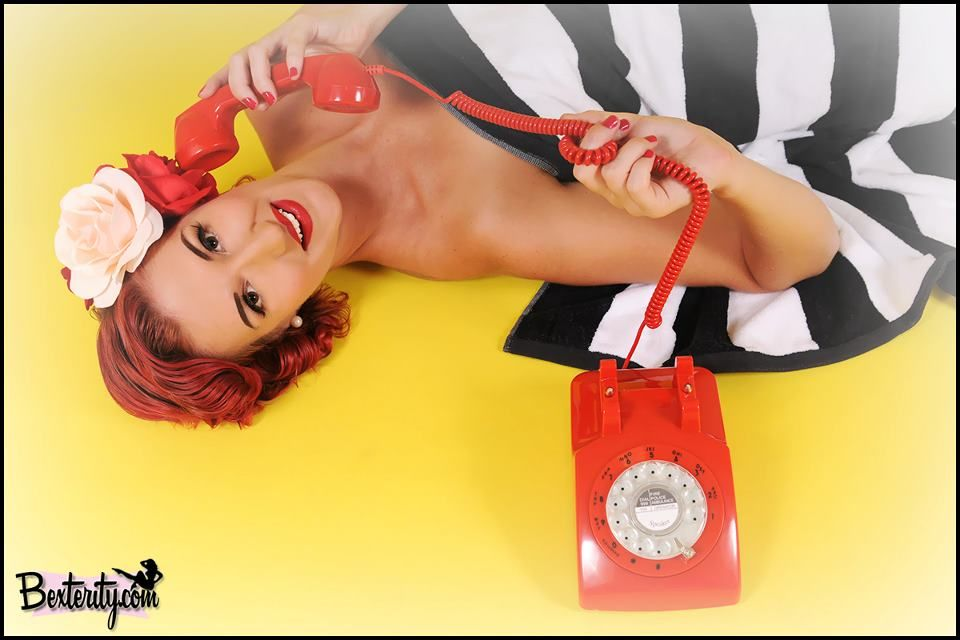Goal: To have a professional pinup style photo shoot. (This photo is by Bexterity Pinup Photography - bexterity.com)