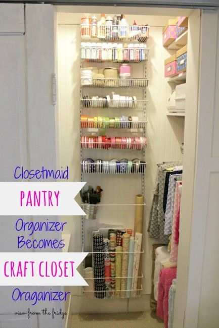 Dirty Little Secret Friday {Craft Closet Organization | Pinterest | Craft  Closet Organization, Closet Organization And Pantry