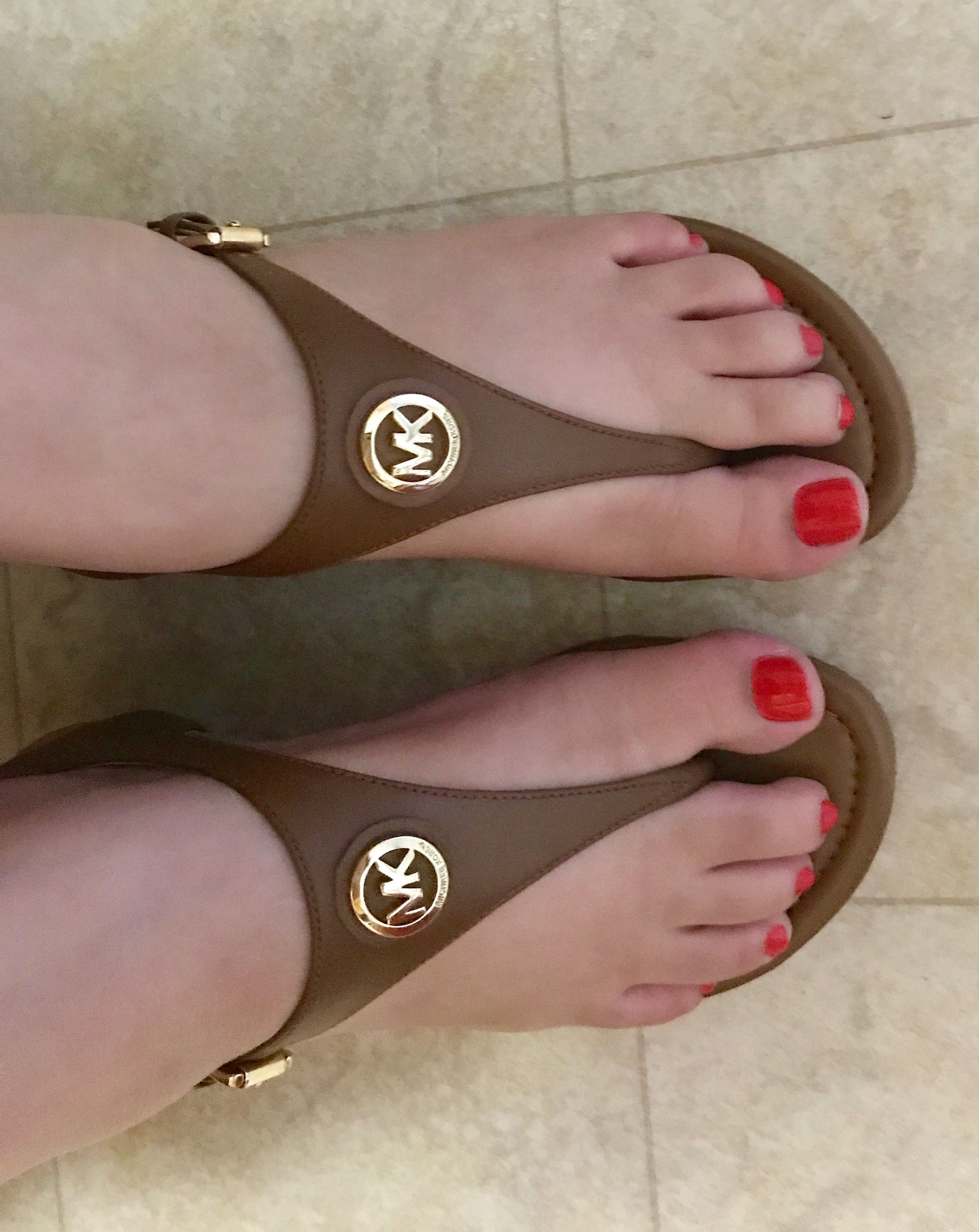 5da454248a59 Michael kors Ramona wedge sandals