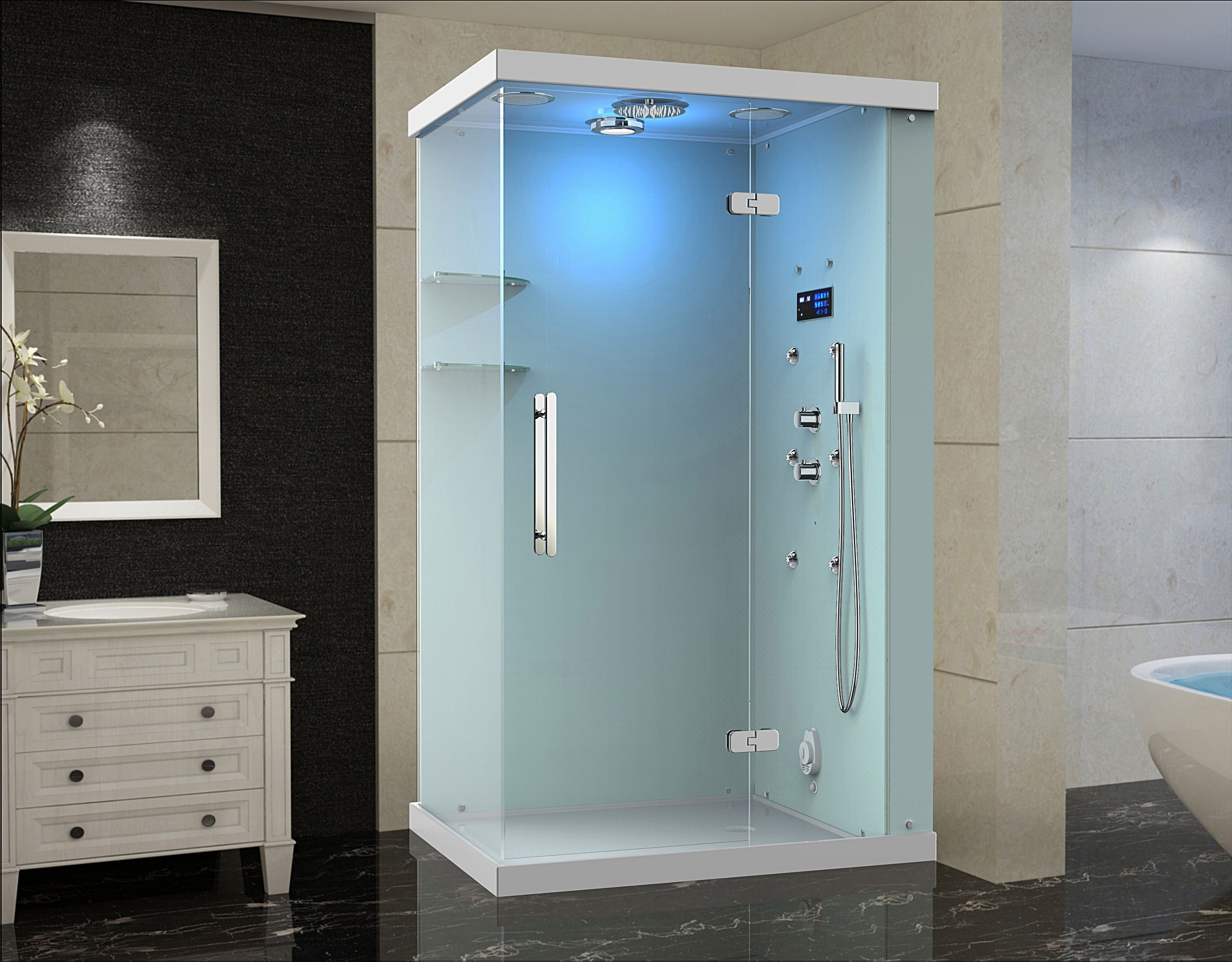 Shower Unit With Body Jets | Shapeyourminds.com