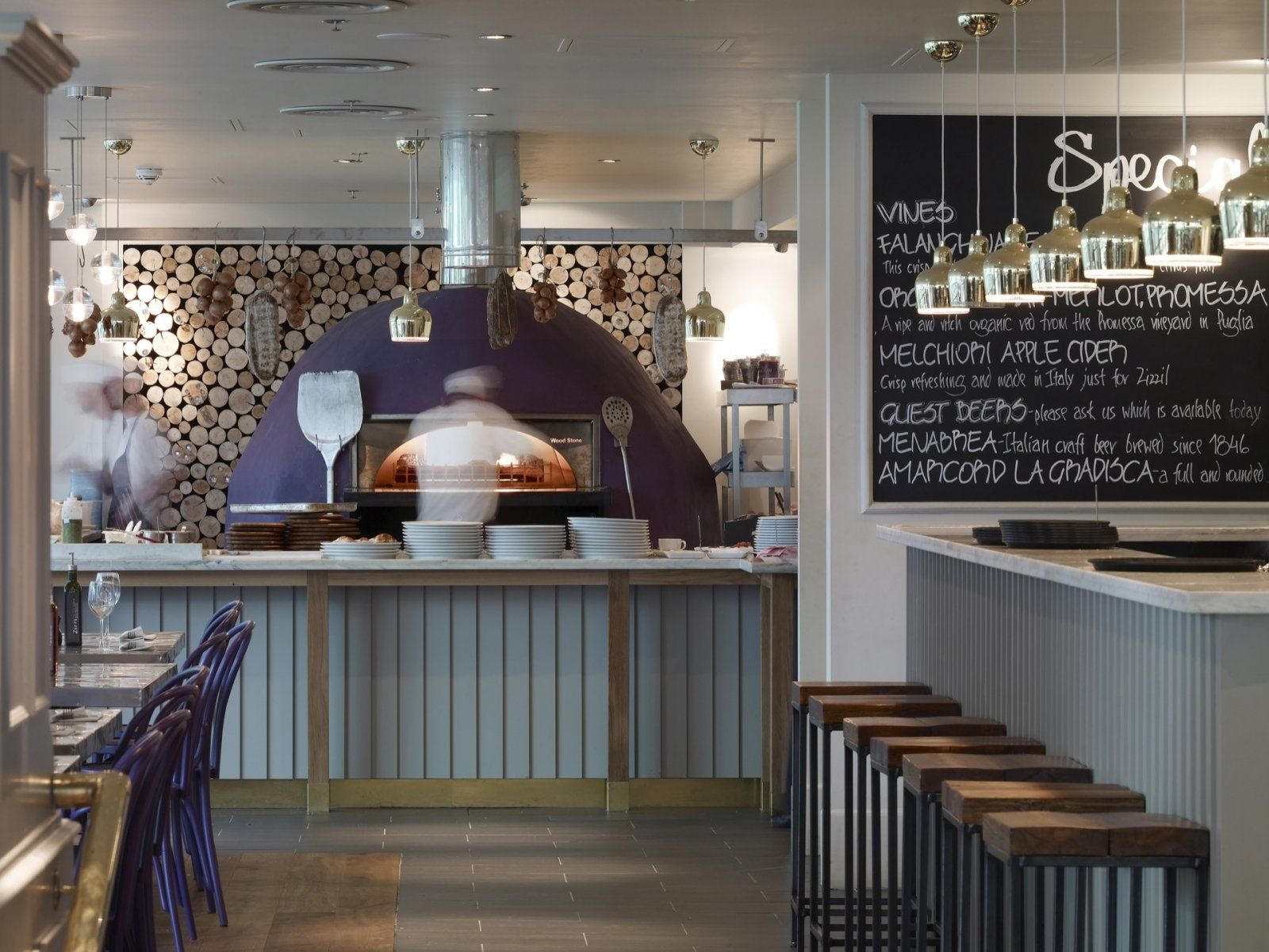 zizzi london interior design - Google Search | Vejle Life ...