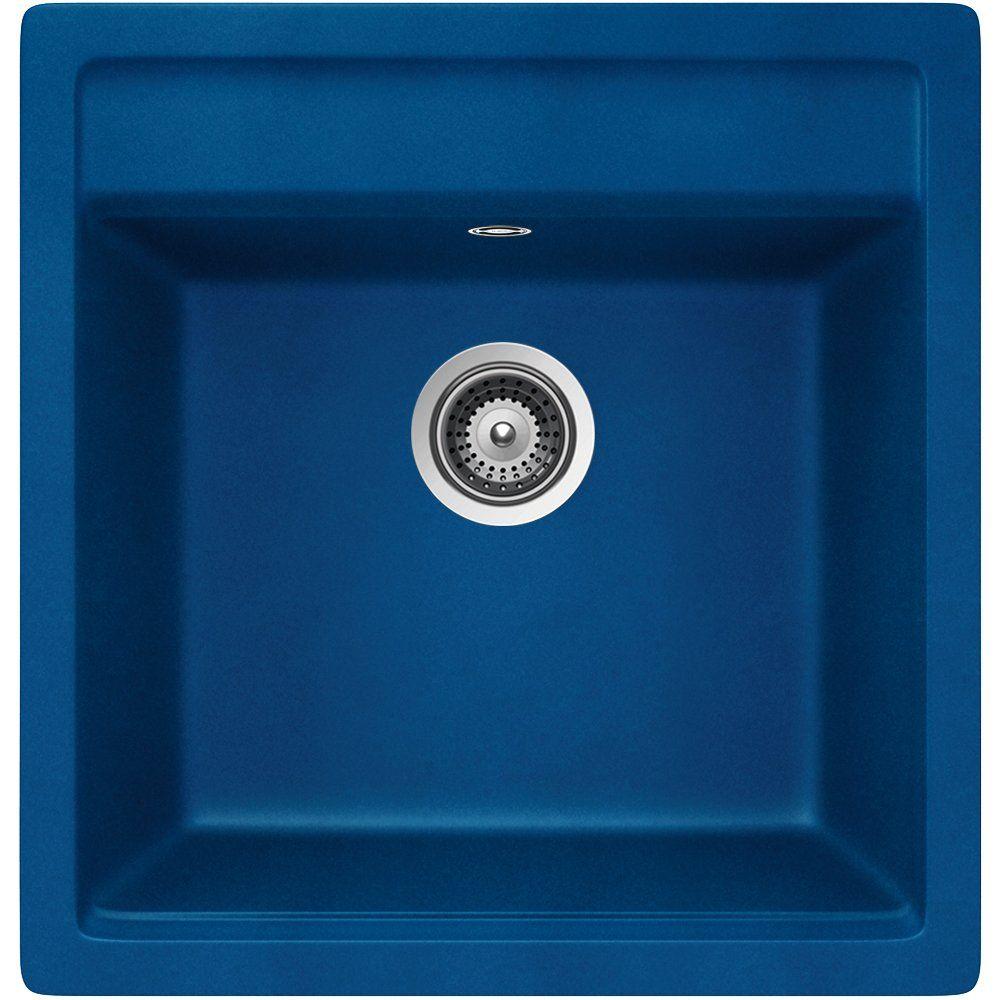 schock nemo n 100 s a oceanblue granitsp le blau becken sp le k che einbau sp le. Black Bedroom Furniture Sets. Home Design Ideas