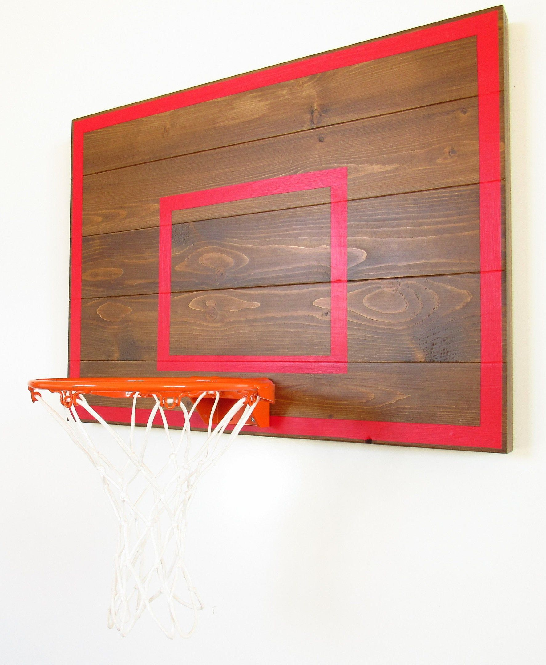 Basketball Hoop Gift / Gifts For Men / Wall Mounted Mini