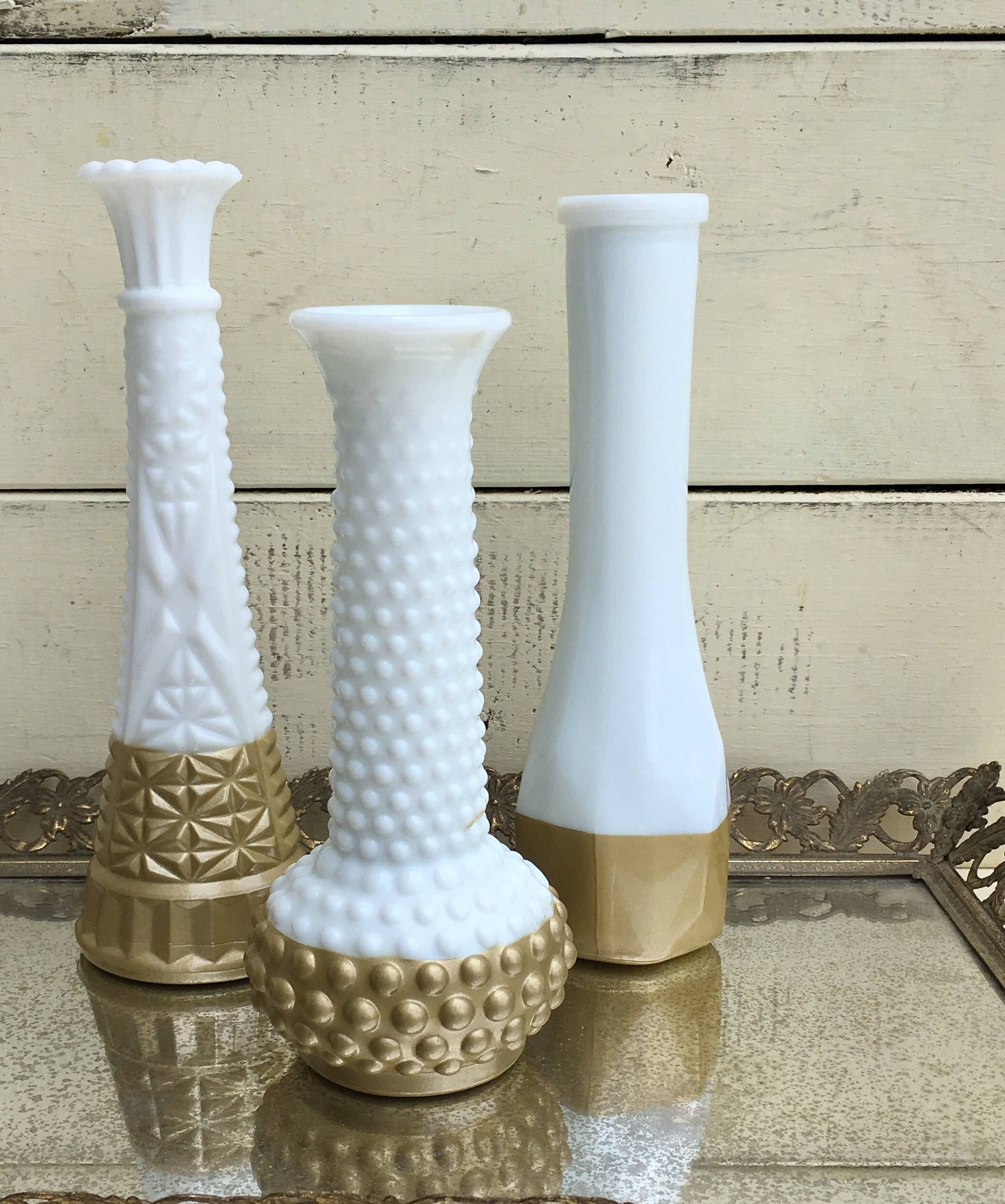 Milk Gl Vase Collection * Gold Dipped Milk Gl Vase, Set of 3 ... Gl Vases With Gold on gold sg, gold post, gold lv, gold mc, gold greenland, gold ad, gold cat, gold co, gold na, gold ax,