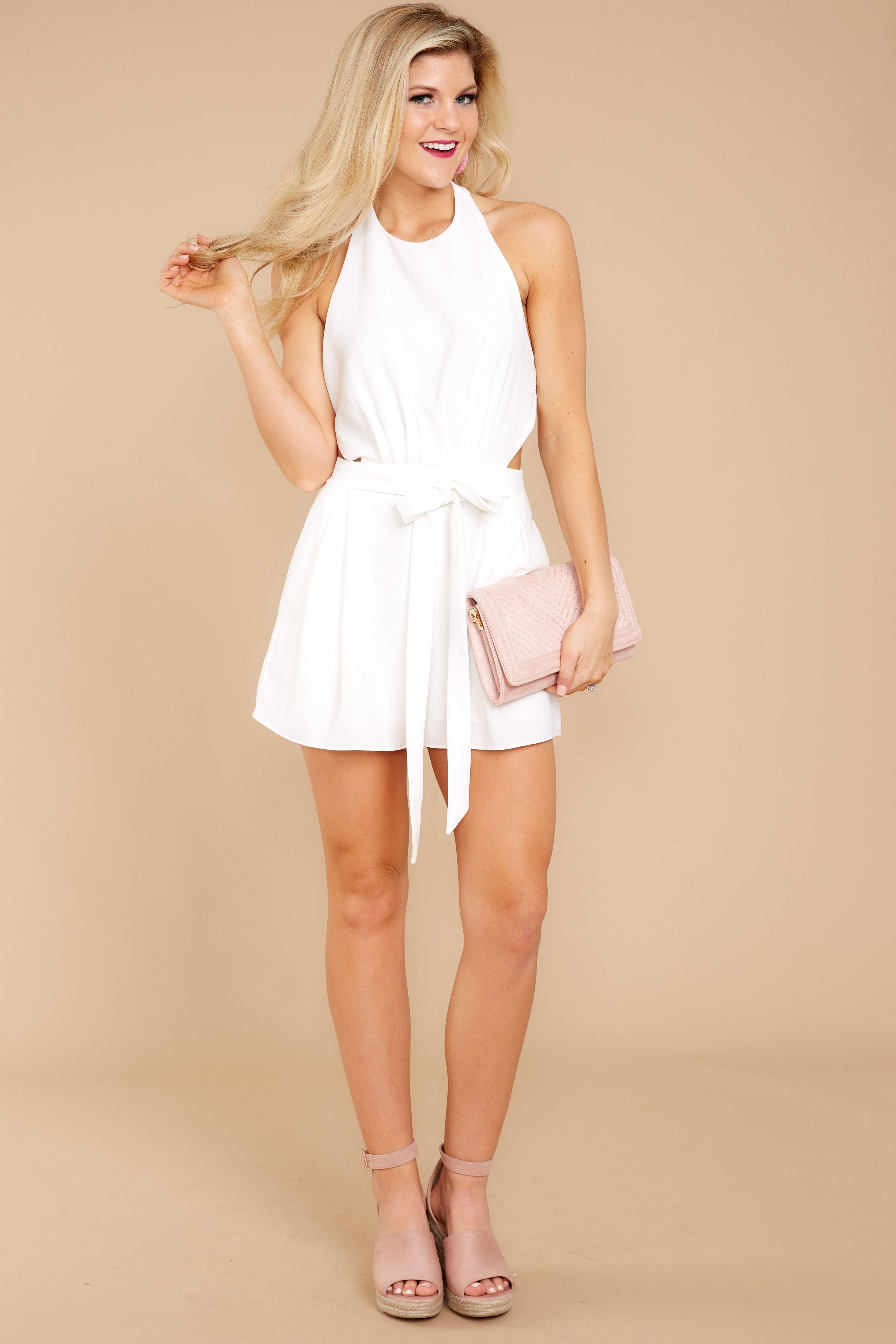 d62e9abc0e Sexy White Romper - Trendy Romper - Romper -  42.00 – Red Dress Boutique