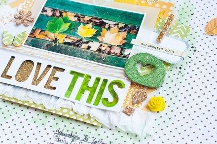 Jessica Lohof shares some techniques for adding dimension to your scrapbook pages.