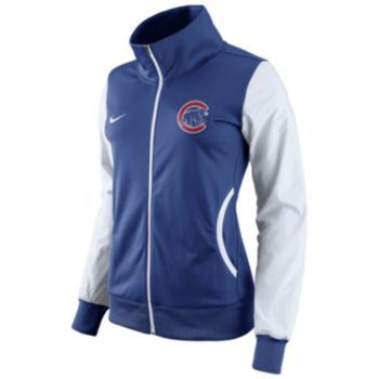 Women's Nike Chicago Cubs Track Jacket