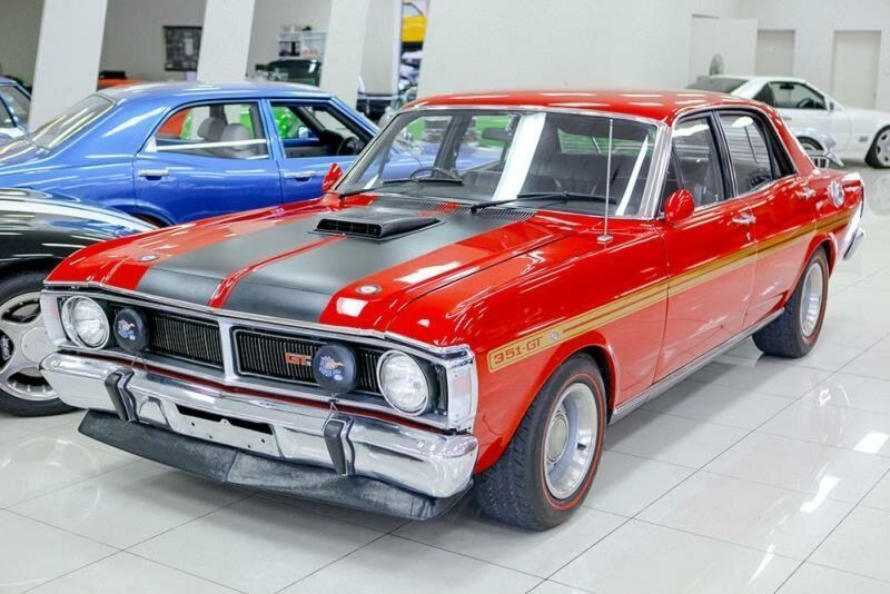 1971 Ford Falcon Xy Gt Track Red Manual 4sp M Sedan Aussie