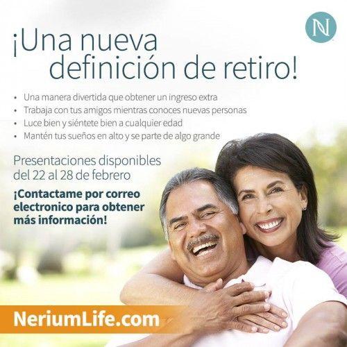 Nerium puede ayudarte a crear la vida que deseas. Pregúntame más:  http://nerium.io/6tqm http://nerium.io/6tqn