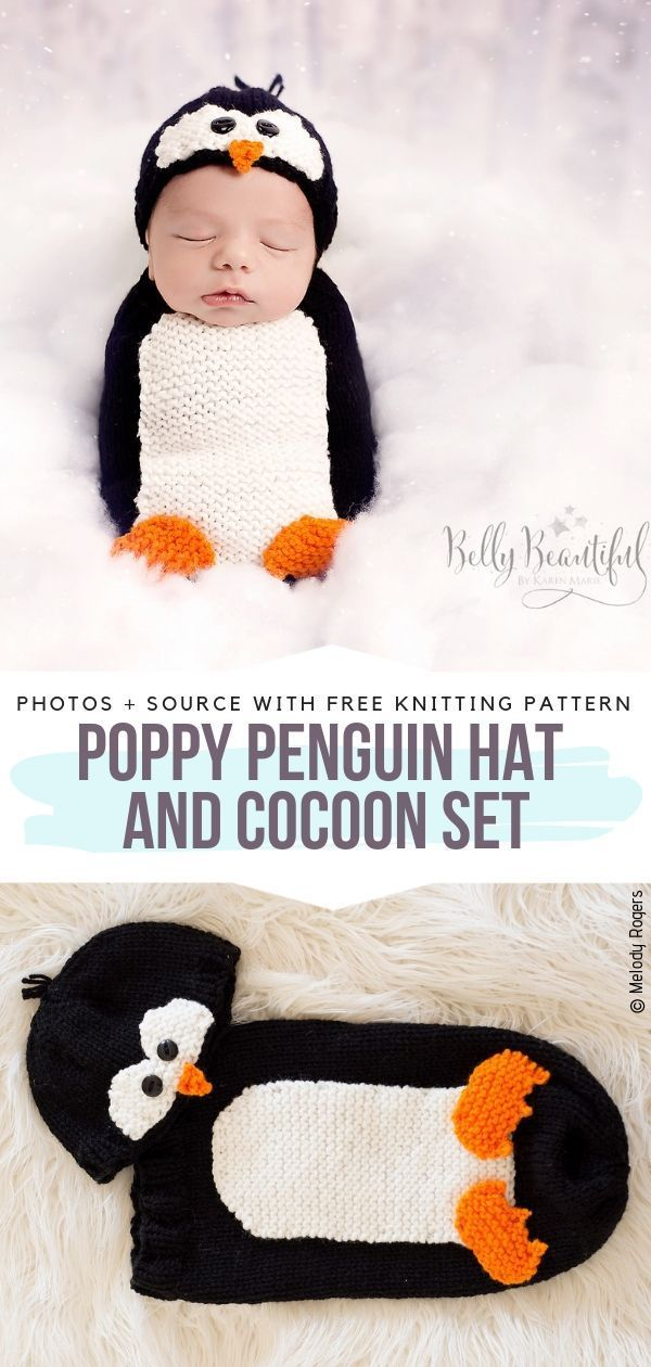 Adorable Knitted Baby Cocoons Free Patterns