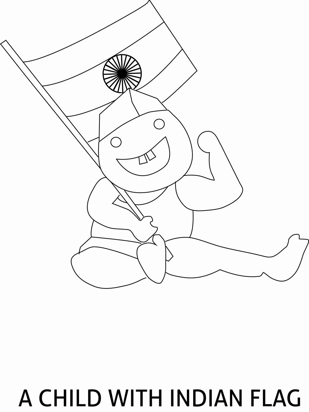 India Flag Coloring Page Lovely India Flag Coloring Page At