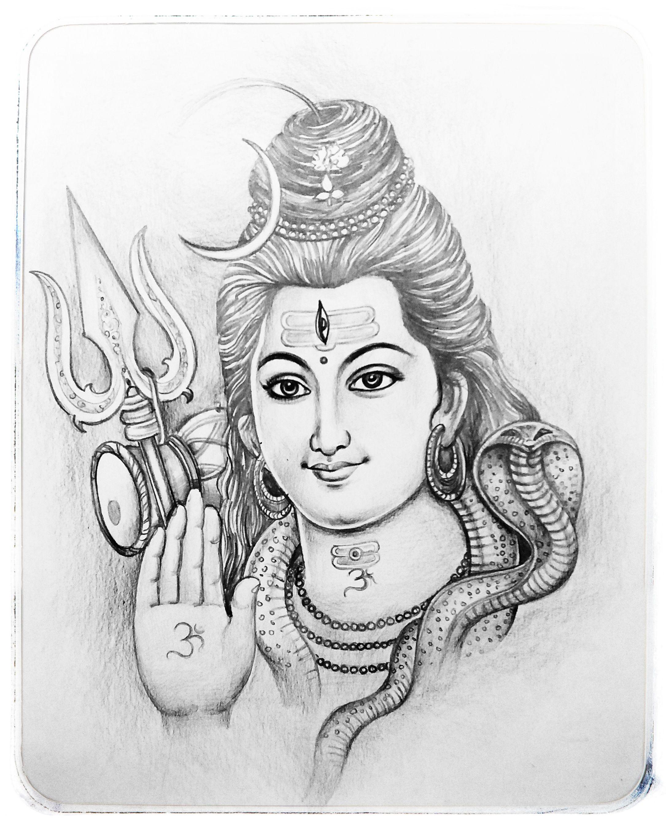Lord Shiva Pencil Sketch In 2020 Art Drawings Sketches Creative Art Drawings Sketches Simple Art Tutorials Drawing