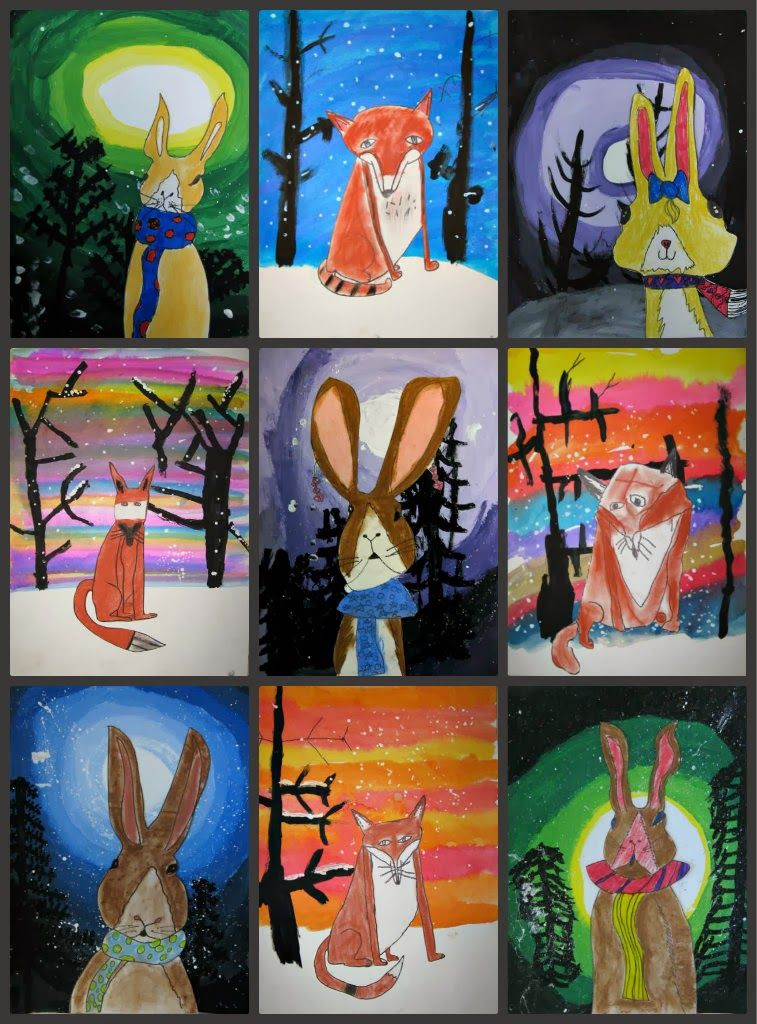 My Two Winter Holiday Art Fun Classes Revisited A Couple