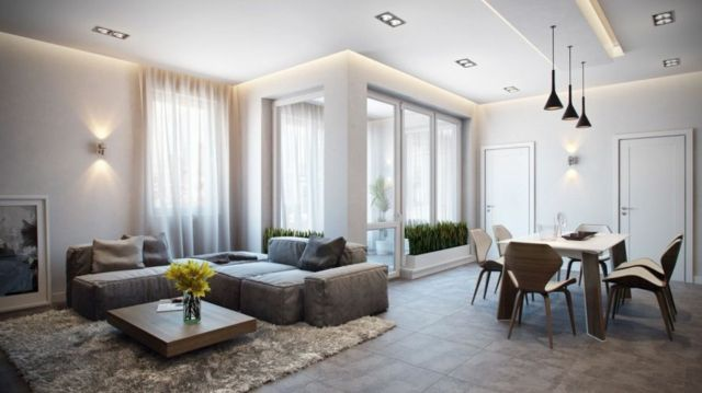 Contemporary modern apartment that makes you falling in love astounding german apartment interior and floor plan design by alexander zenzur
