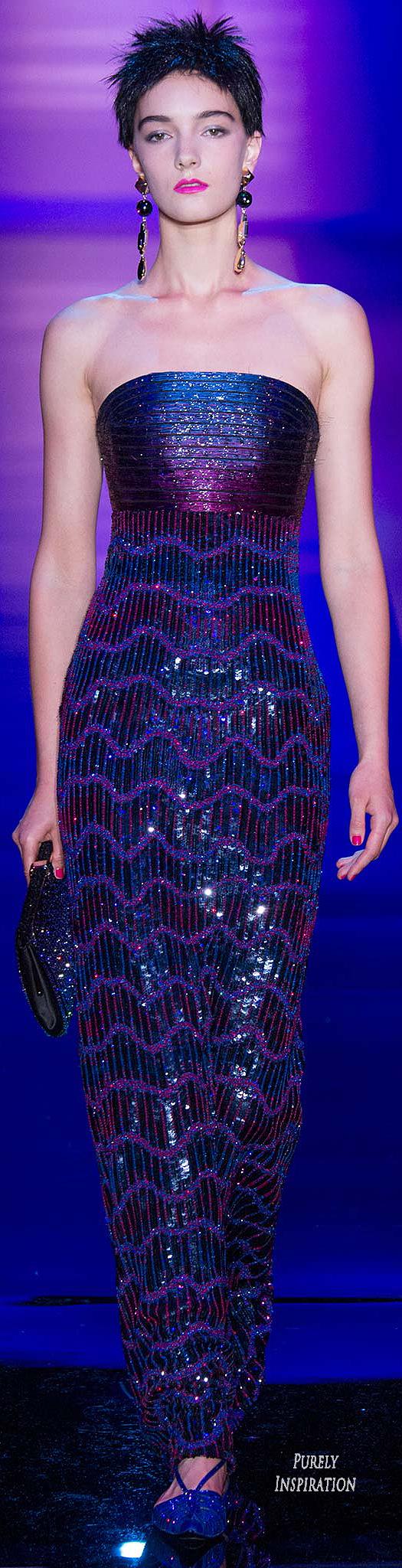 Armani Privé Fall 2015 Haute Couture | Purely Inspiration | Vestido ...