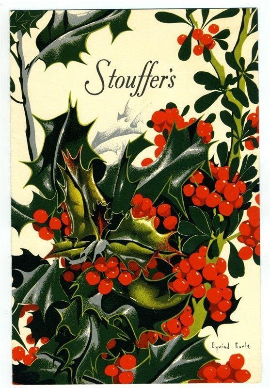 Stouffer's Restaurants Dinner Menu Eyvind Earle Cover 1954