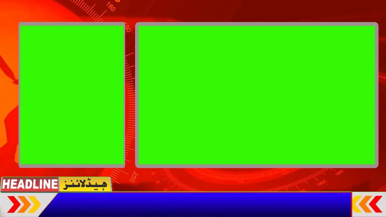 Free Breaking News Background With Two Green Screen Motion 2019 Greenscreen Green Background Video Free Green Screen