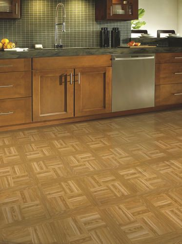Designers Image Bronze Series Vinyl Tile Gold Oak At