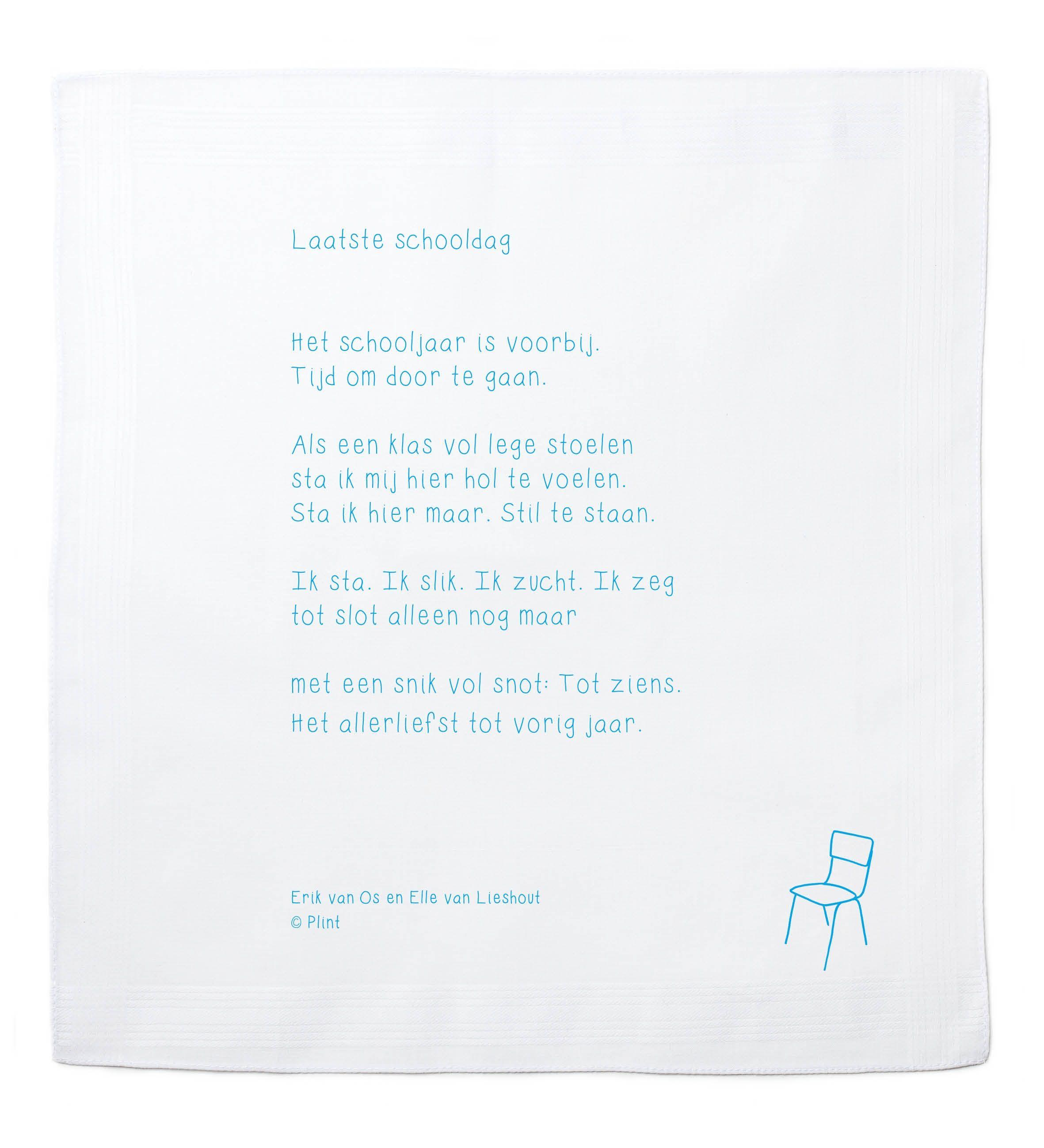 Gedichtje Over De Laatste Schooldag Door Erik Van Os En Elle