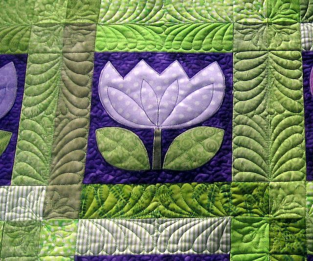 .I love the sashings and the way the sashings are quilted