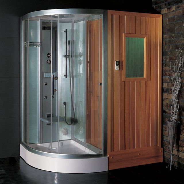 Steam Shower Sauna Gadget Guru Steam Showers Sauna Shower Bathroom