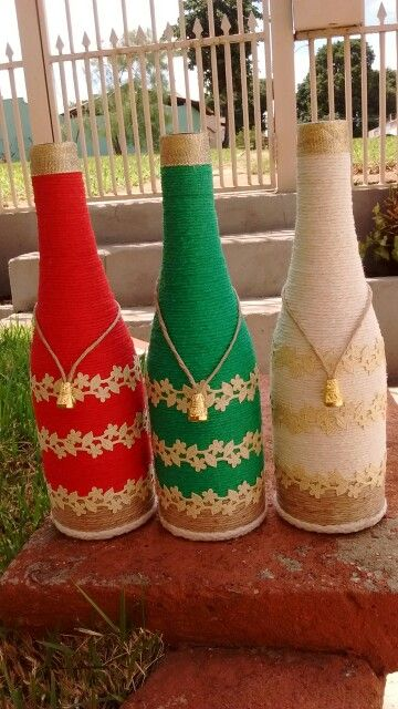 Garrafas botellas Pinterest Botellas decoradas, Botellas de