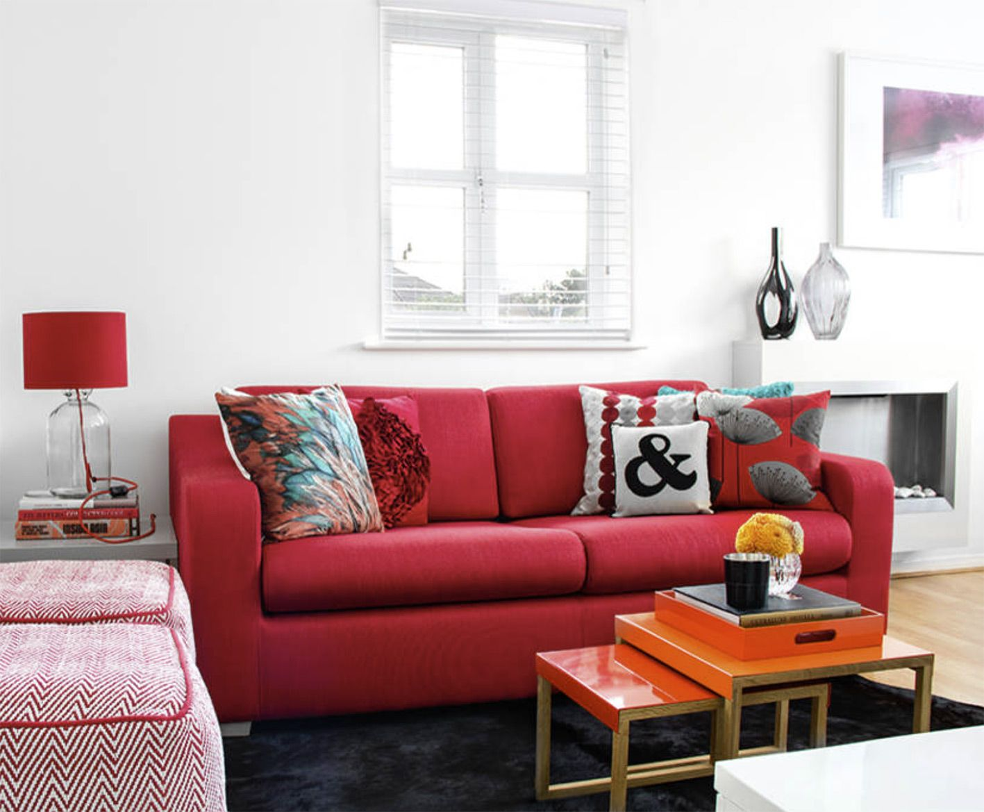 interior inspiration  ruby red  add some energy and
