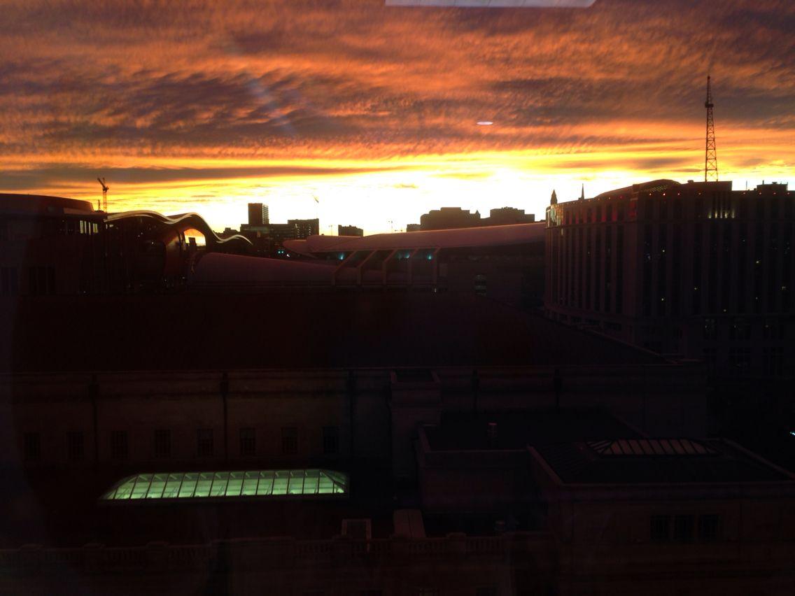Epic Sunset - Nashville, TN November 18, 2015