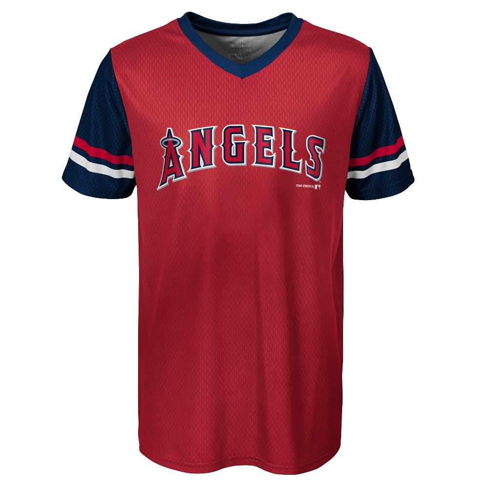 Los Angeles Angels Boys Homerun Sublimated Jersey Xs In 2020 Los Angeles Angels Homerun Jersey