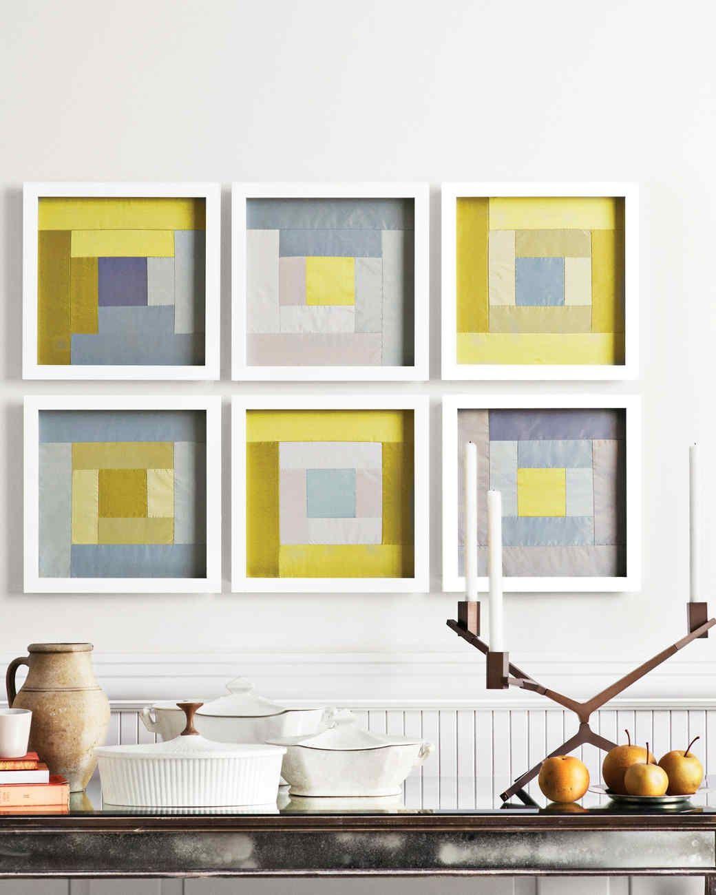 Framed Quilt Squares | Patchwork, Squares and Tutorials